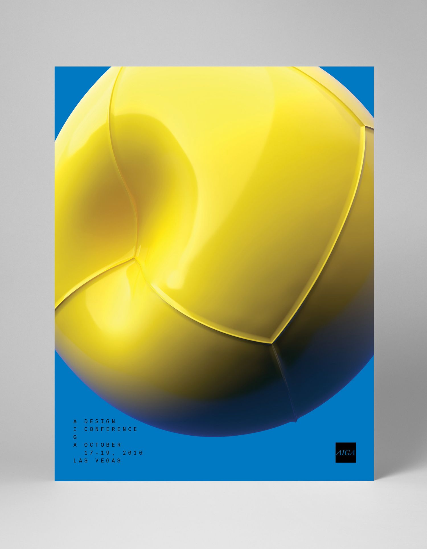 AIGA Design Conference by Mother Design. #branding #poster