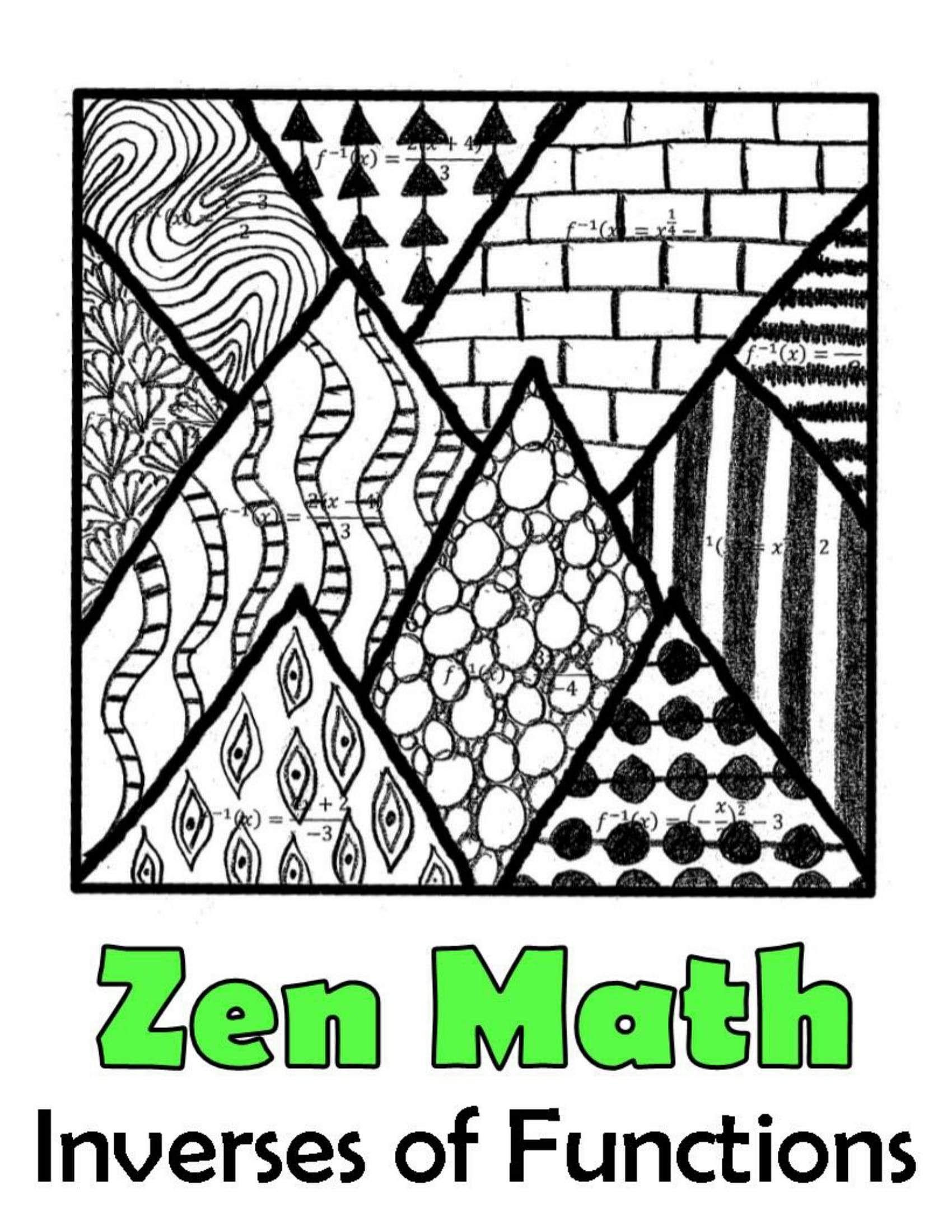 Algebra 2 Color By Number Mega Bundle 30 Activities For
