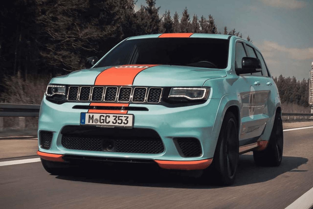 Geigercars Jeep Trackhawk Gulf Custom Suv In 2020 Jeep Suv Mens Gear