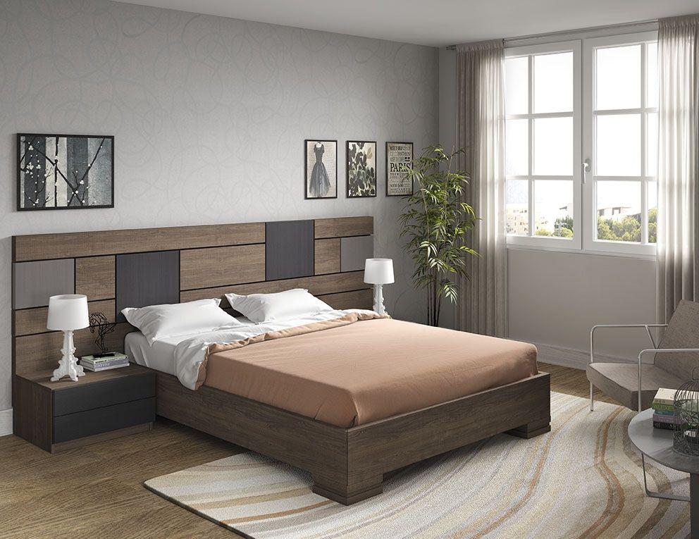 Dormitorio matrimonio moderno c 02 ms10 papel pintado for Dormitorios adultos modernos