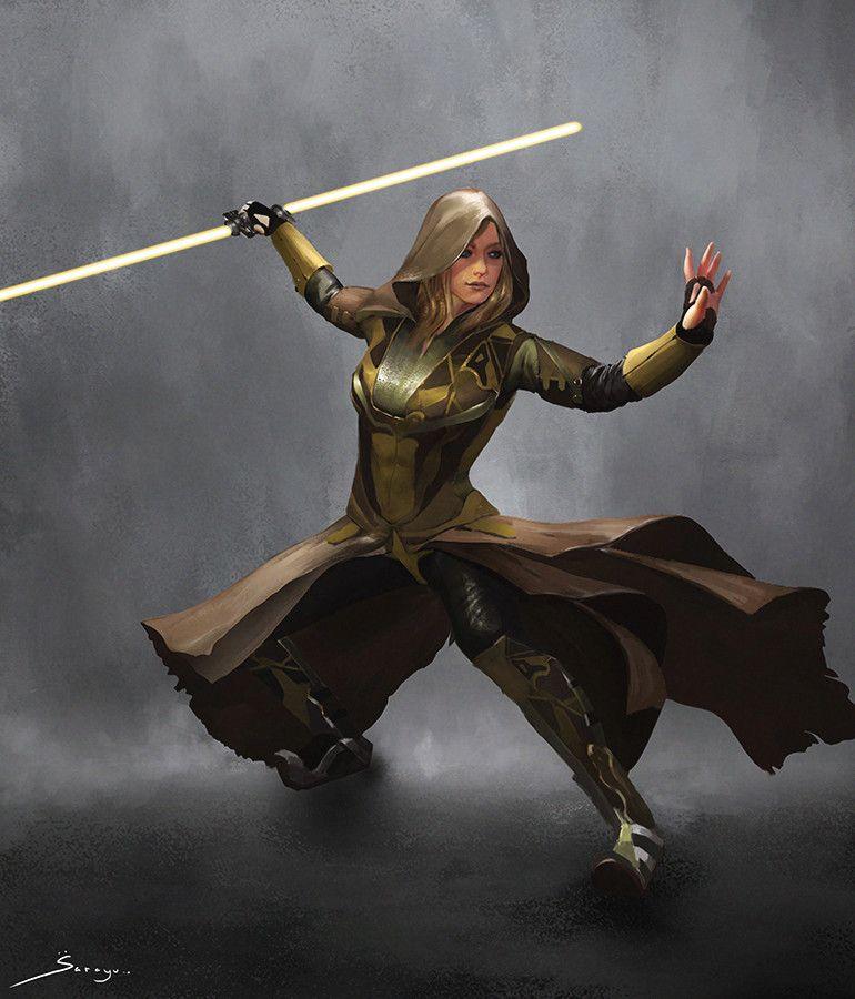 ArtStation - Jedi Concept Fan Design, Sarayu Ruangvesh