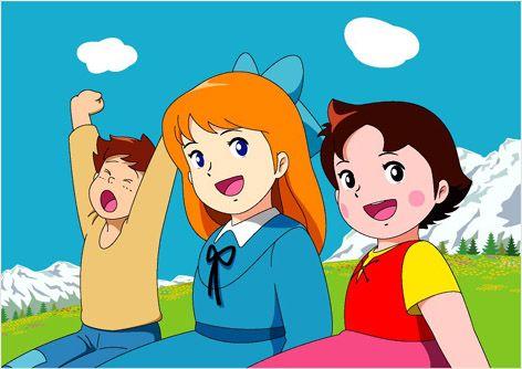 Heidi Caricaturas Japonesas Cancion Abuelito Dime Tu Dibujos