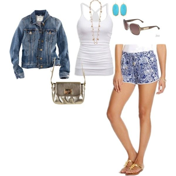 lilly for target upstream styled by brittru84 on Polyvore featuring H&M, Jaeger, Kendra Scott, Michael Kors and American Eagle Outfitters