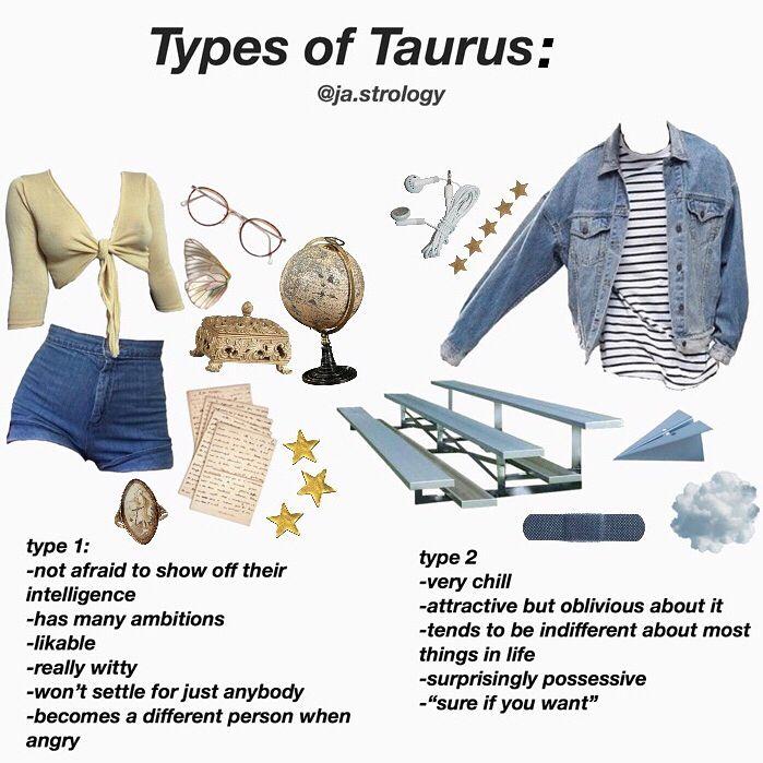 Different Types Of Taurus