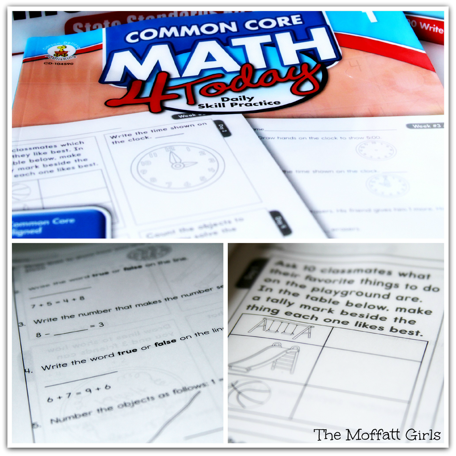 The Moffatt Girls: Carson Dellosa and The Common Core GIVEAWAY!