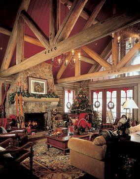 Custom Design (Morning Star) rustic living room