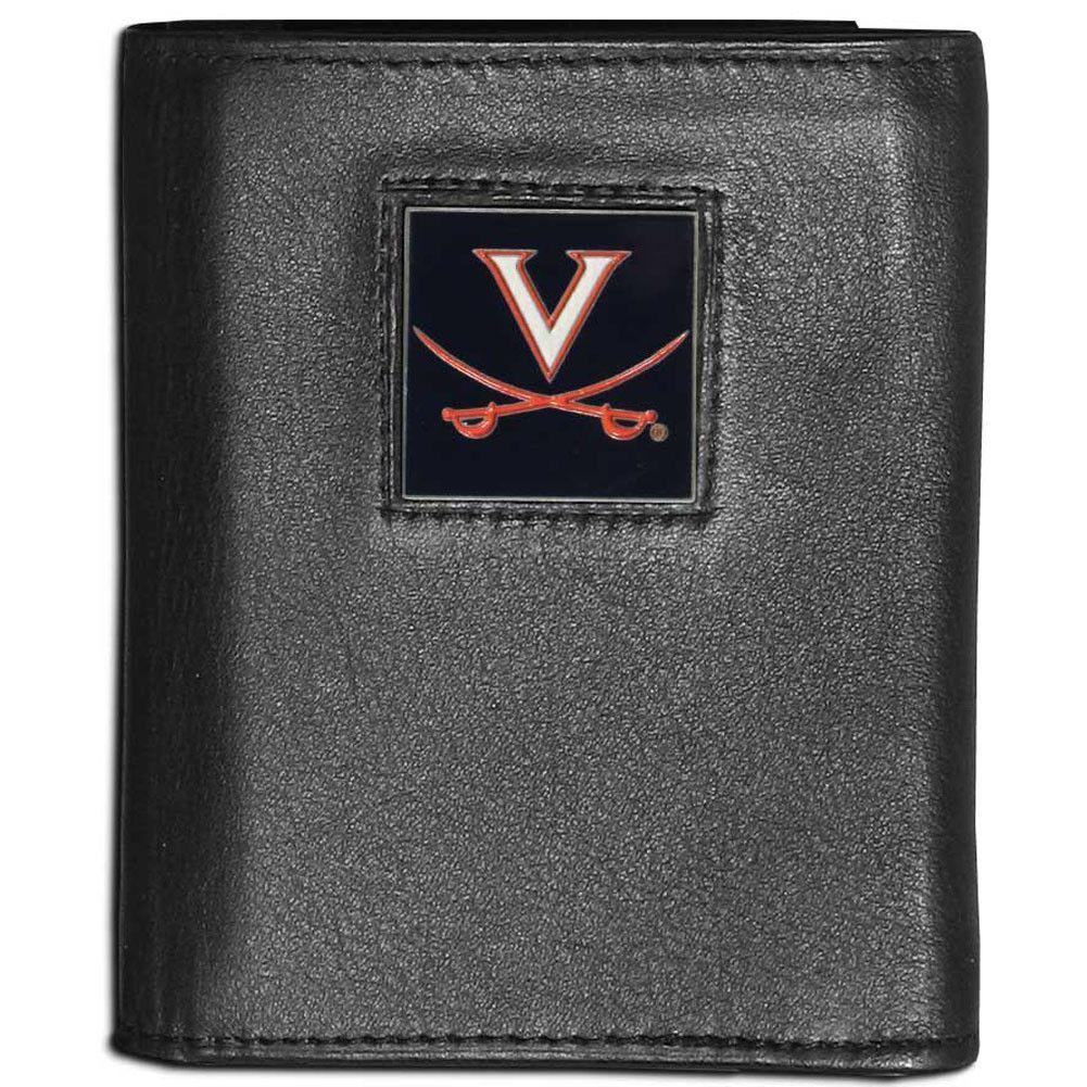 Virginia Cavaliers Leather Tri-fold Wallet