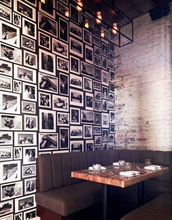 fotos Wandgestaltung mit Farbe wände gestalten esstisch sofa - wandgestalten mit farbe