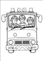 Kleurplaat Brandweerman Sam Kinder Fire Safety Week Pinterest