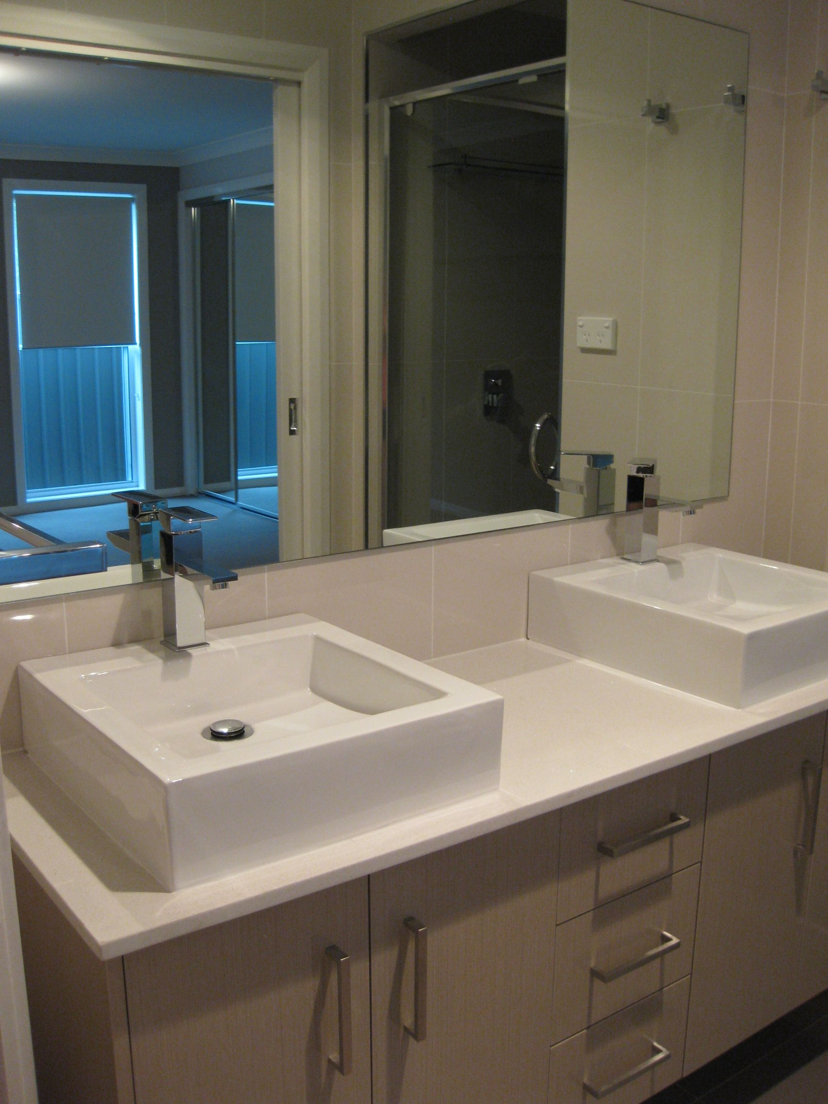 The Diamond Lily Custom Designed Ensuite With Double Bowl Vanity.