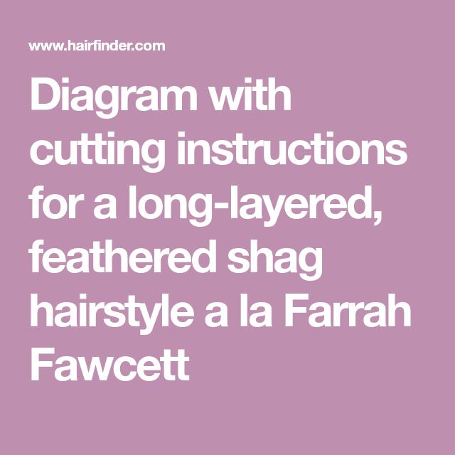 farrah haircut instructions and diagram pin on hair styles