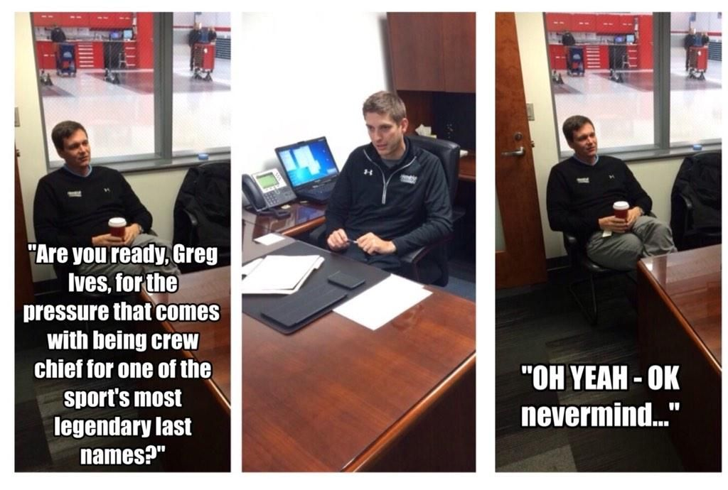 Dale Jr. crew-chief chat, part 2. #nascar #chaseelliott (h/t @TeamHendrick)