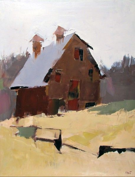 Red Barn by Sandra Pratt