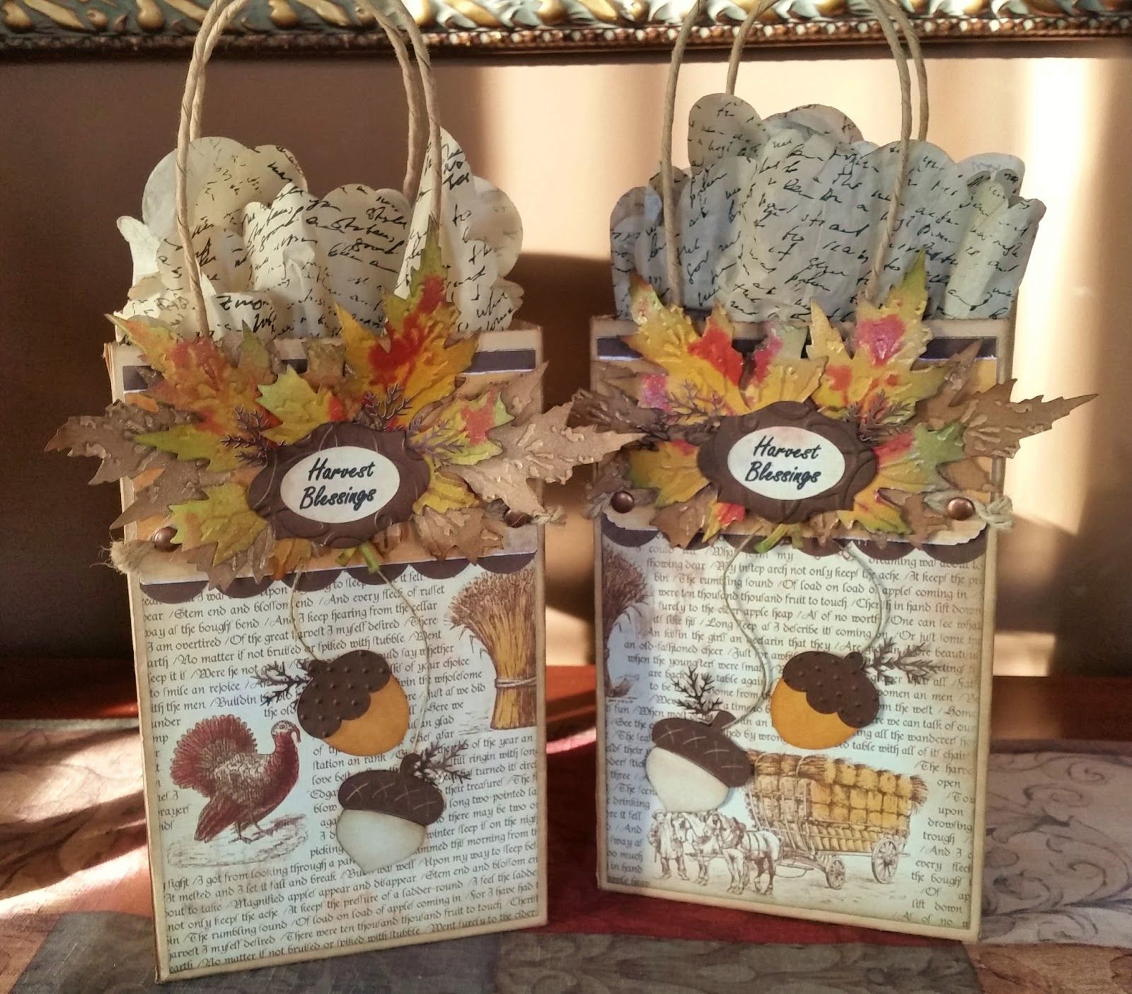 thanksgiving craft gift ideas thanksgiving gift bags small quot thank you quot for my dinner 5553
