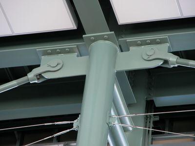 Round Column Ipe Joints Steel Pinterest Study
