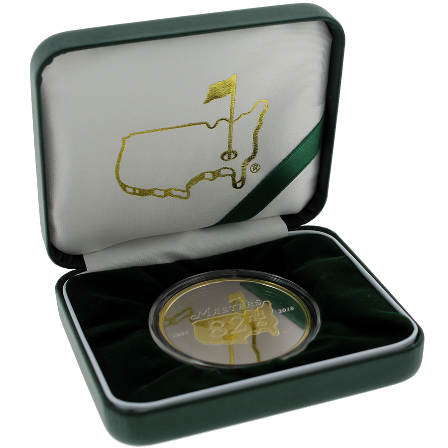 2018 Masters Tournament Collectors Coin Limited To 500 Masters Merchandise Masters Tournament Tournaments