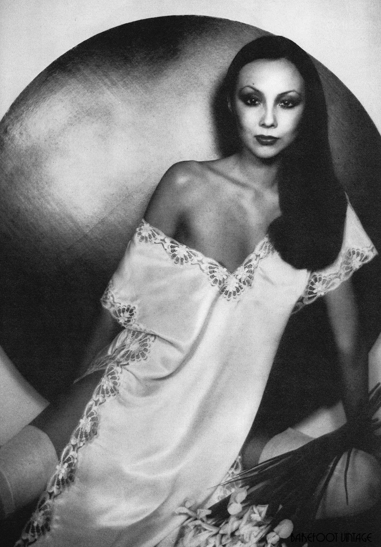 Vintage Editorials Night Dressing London Style 1975