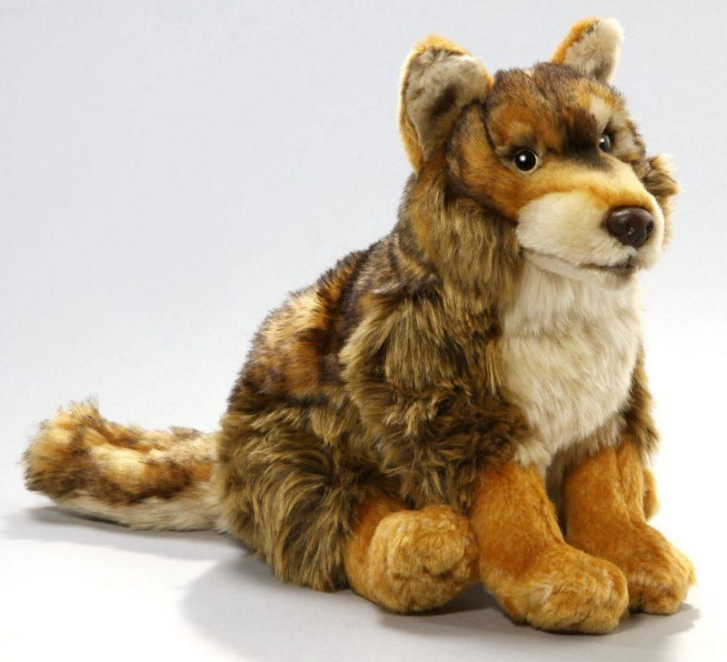 1d261fe1d5c1 Stuffed animal sitting red-wolf