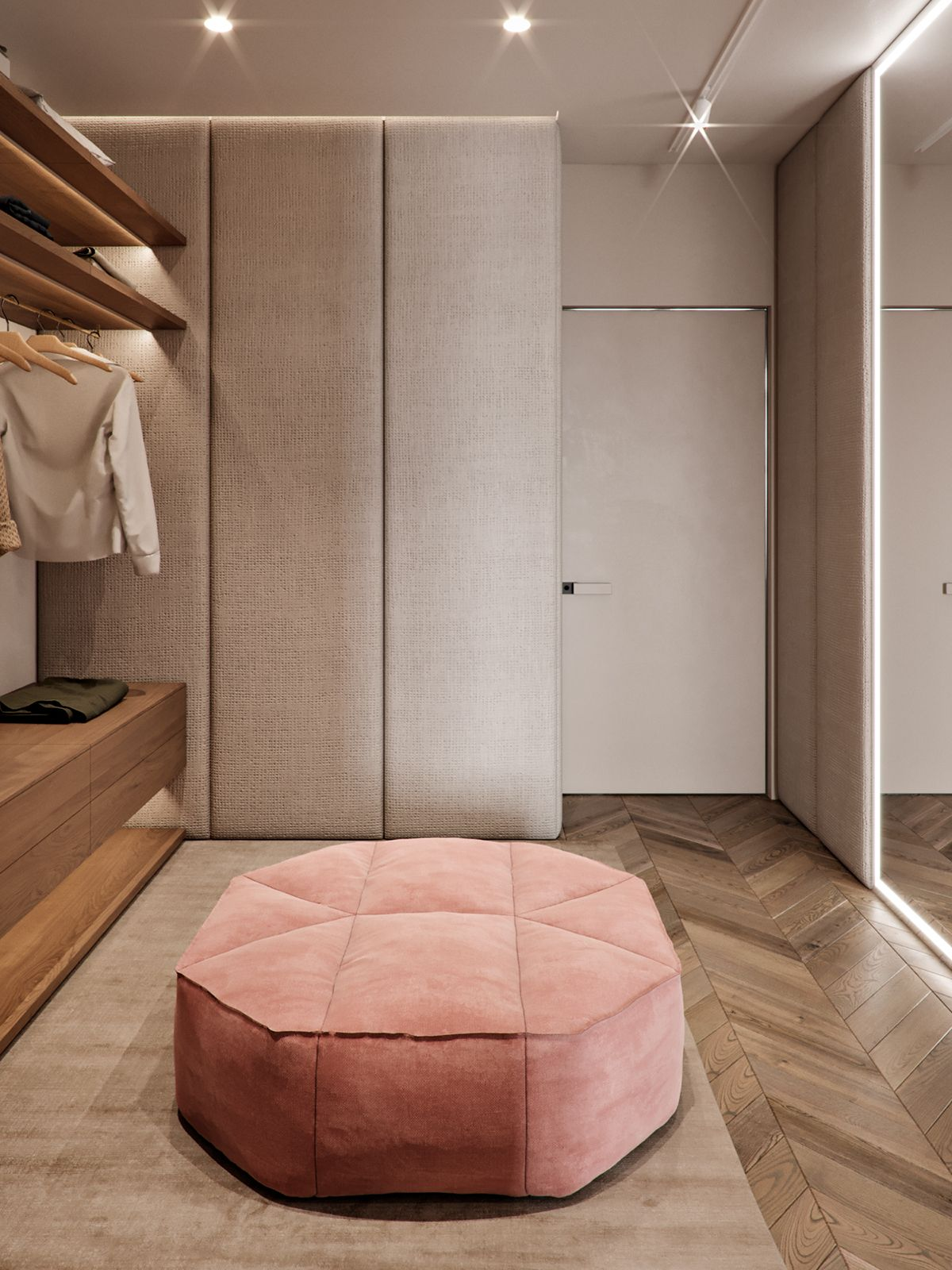 Rybalsky On Behance łazienka In 2019 Bedroom Closet