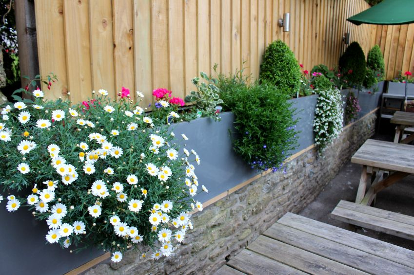 40 Beautiful Garden Fence Ideas Concrete Plantersstone Wallswood Privacy