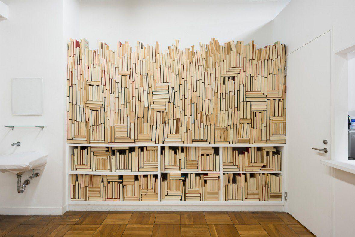 Bookshelf weaving
