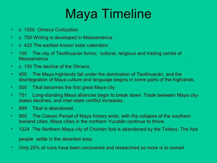 an analysis of the topic of the mesoamericas civilization maya The topic concludes with an open-ended enquiry which challenges pupils to work collaboratively to create their own plausible answer to the riddle of why the mayan civilization came to such an abrupt end.