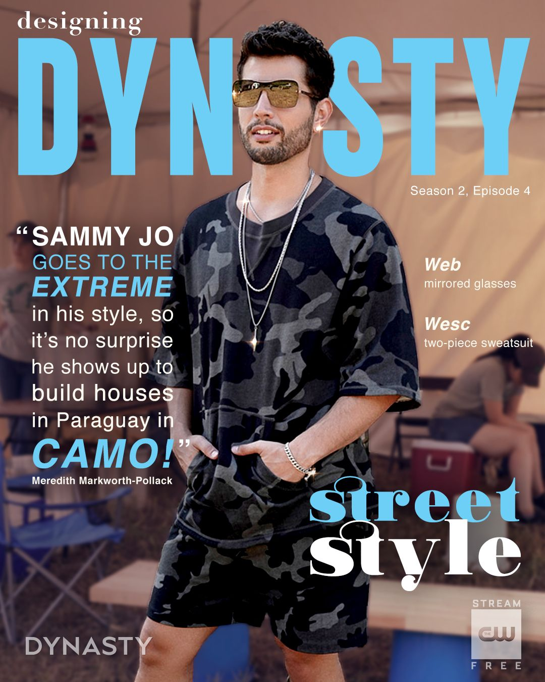 Dress for the life of luxury you want. Stream Dynasty for