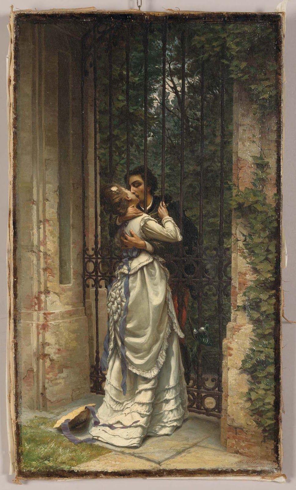 Le Prince Lointain: Silvio Allason (1843-1912), Il Bacio ...