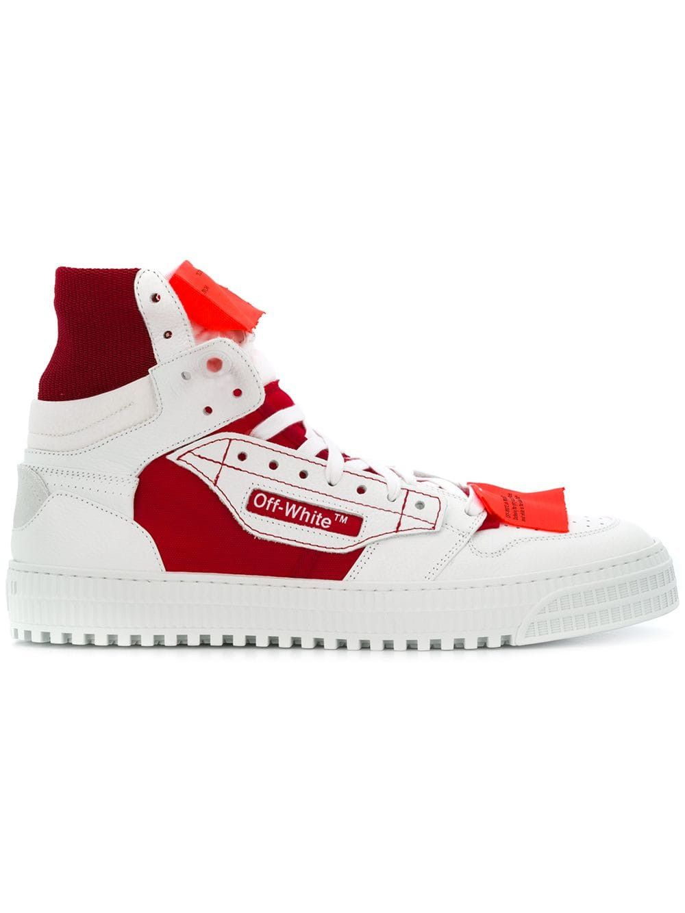 Off-court hi-tops. #off-white #shoes