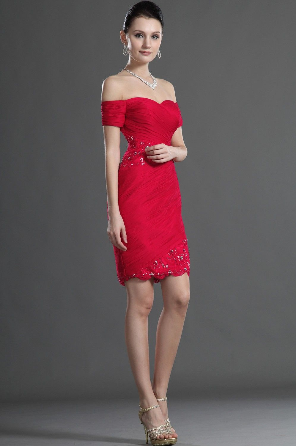 Stylish Red Short Dresses for all Ocassion | Red cocktails, Short ...