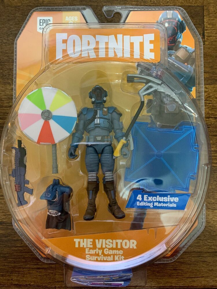 Jazwares Fortnite The Visitor Early Game Survival Kit 4 Action