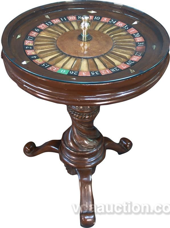 Small Roulette Wheel Side Table Roulette Table Side Table Roulette Wheel