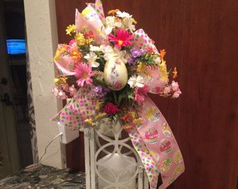 Botín de linterna de conejito de Pascua con por kristenscreations