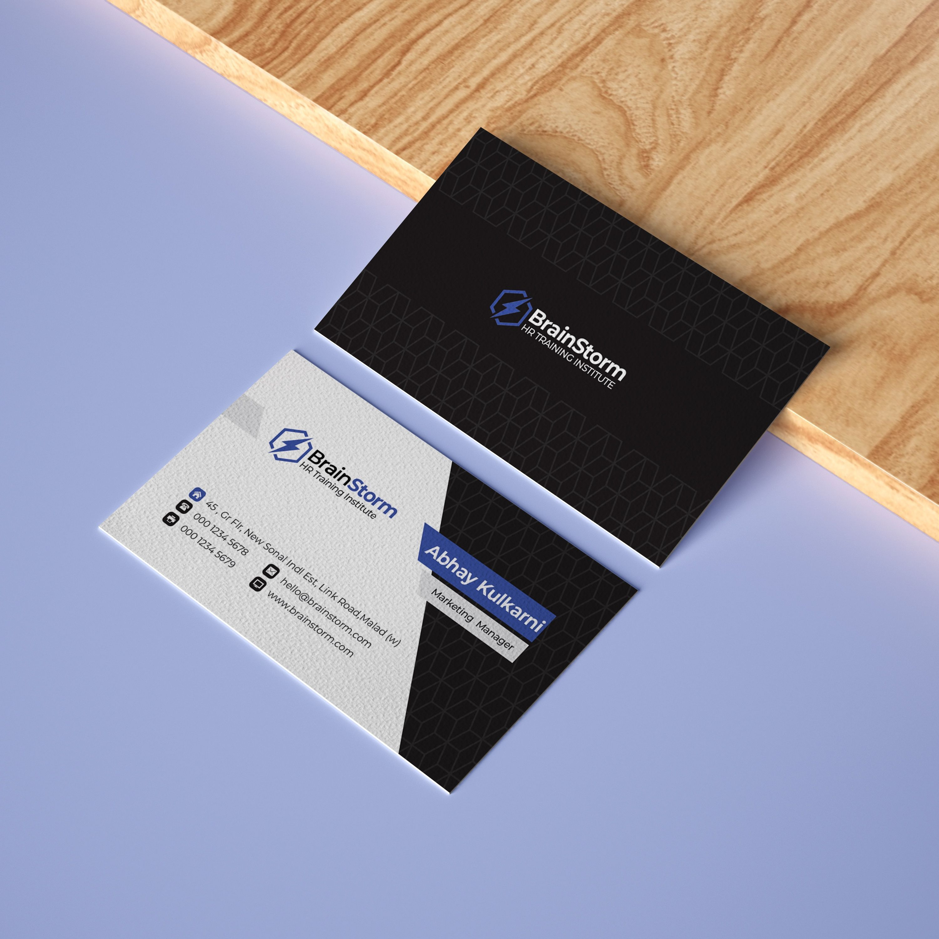 Create Your Exclusive Brand Image With Minimalist Business Card Designed By Quinte Marketing Business Card Digital Marketing Business Minimalist Business Cards