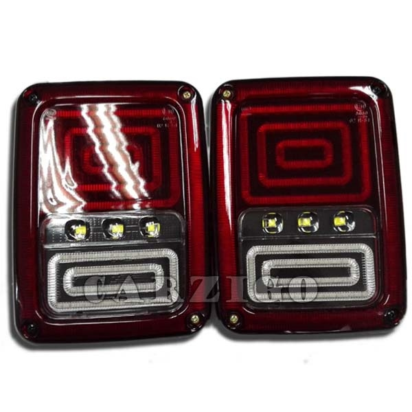 63.92$  Buy here - http://ali6aa.shopchina.info/go.php?t=32691936029 - CZG-JT02 led tail light for jeep wrangler led truck tail light Europ red LED Brake Tail Light Rear Signal Reverse Lamp for JEEP 63.92$ #buyininternet