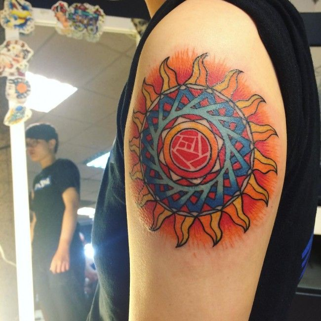 100 Most Impressive Sun Tattoo Designs And Meanings Cool