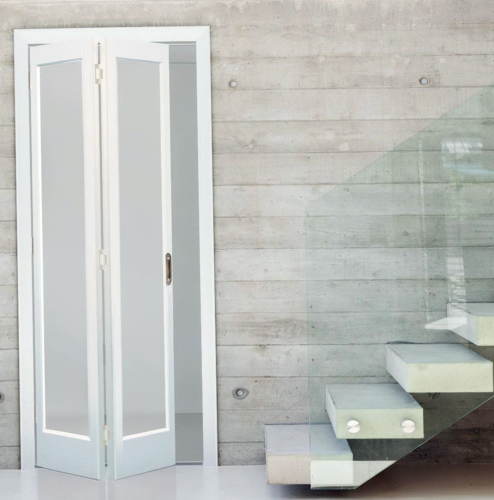 Bifold Closet Doors With Frosted Glass Gallery Doors Design