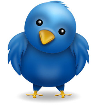 EPX Body's Twitter bird on the EPX Body live tweets page.