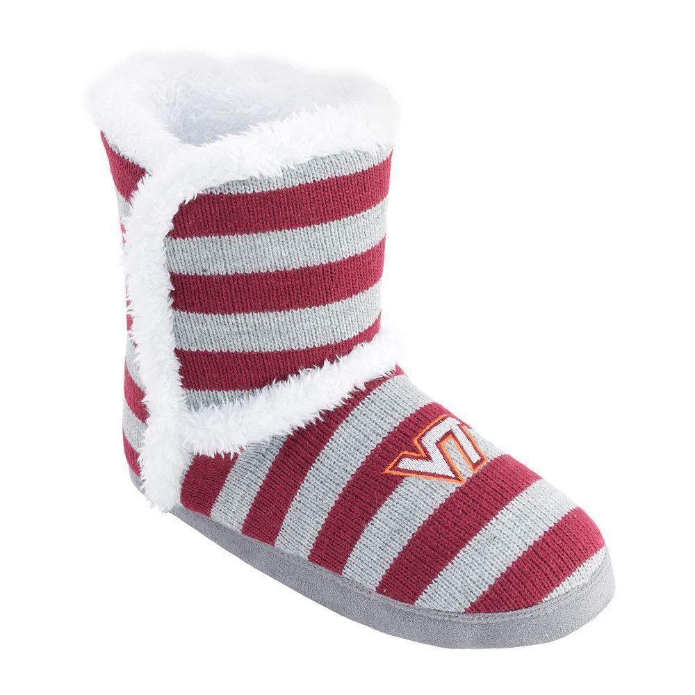 Women's Virginia Tech Hokies ... Striped Boot Slippers best seller cheap online 8RdwV3pg
