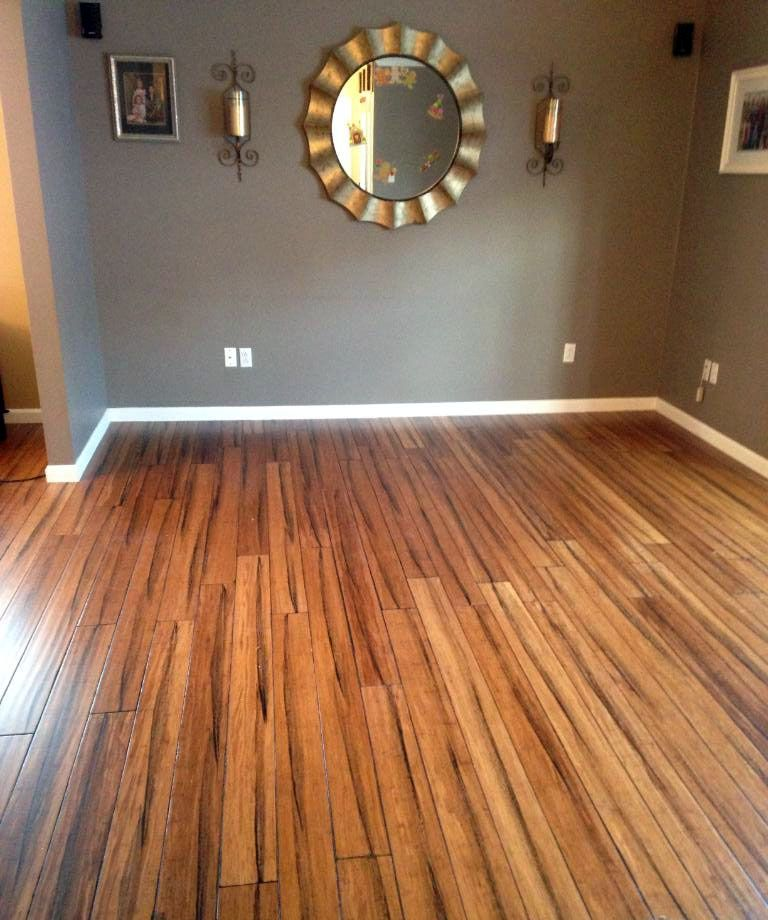antique strand handscraped bamboo floors home pinterest