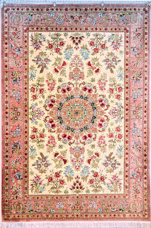 Fl Silk Persian Rug You Pay 9 900