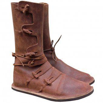 6fa5426eafe07a Hohe Wikingerschuhe Schuhe Selber Machen