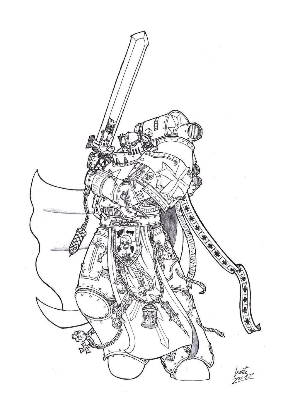 Black Templars - High Marshall Ludoldus by Greyall on DeviantArt
