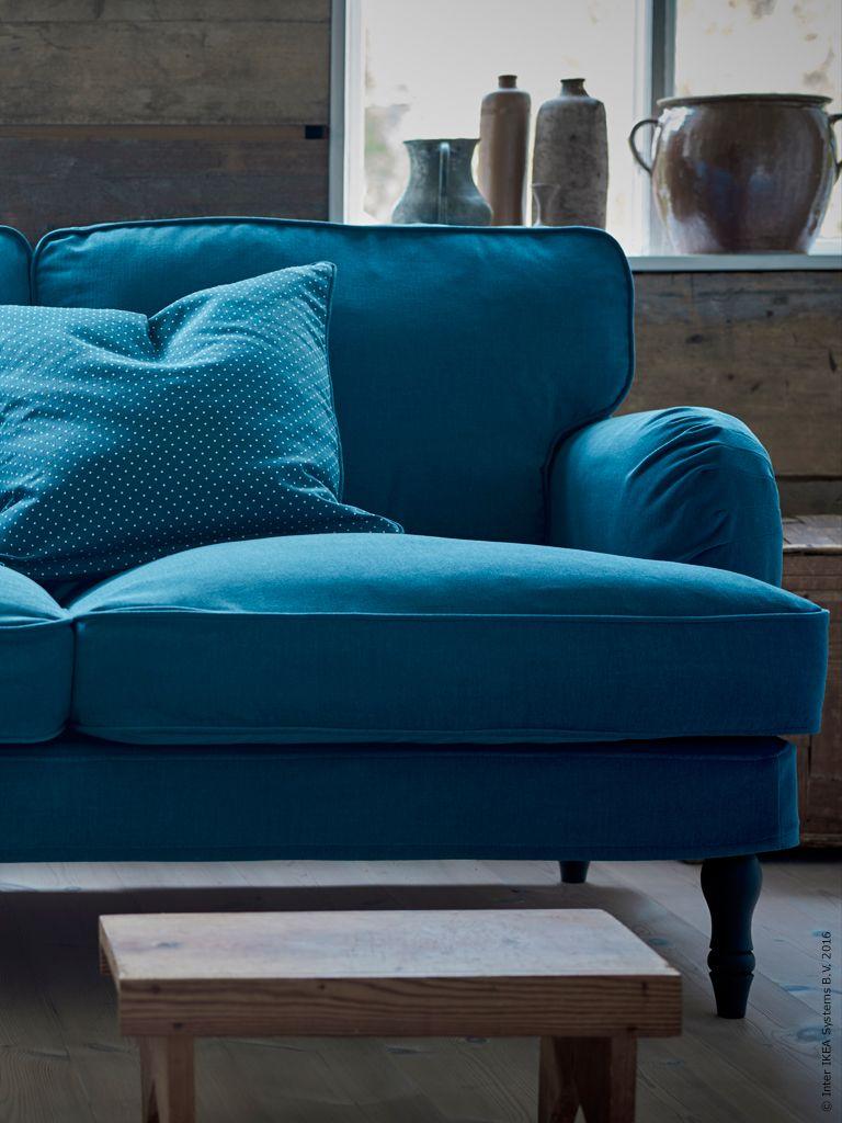 soffan är förutom sängen den möbel i hemmet som vi använder allra