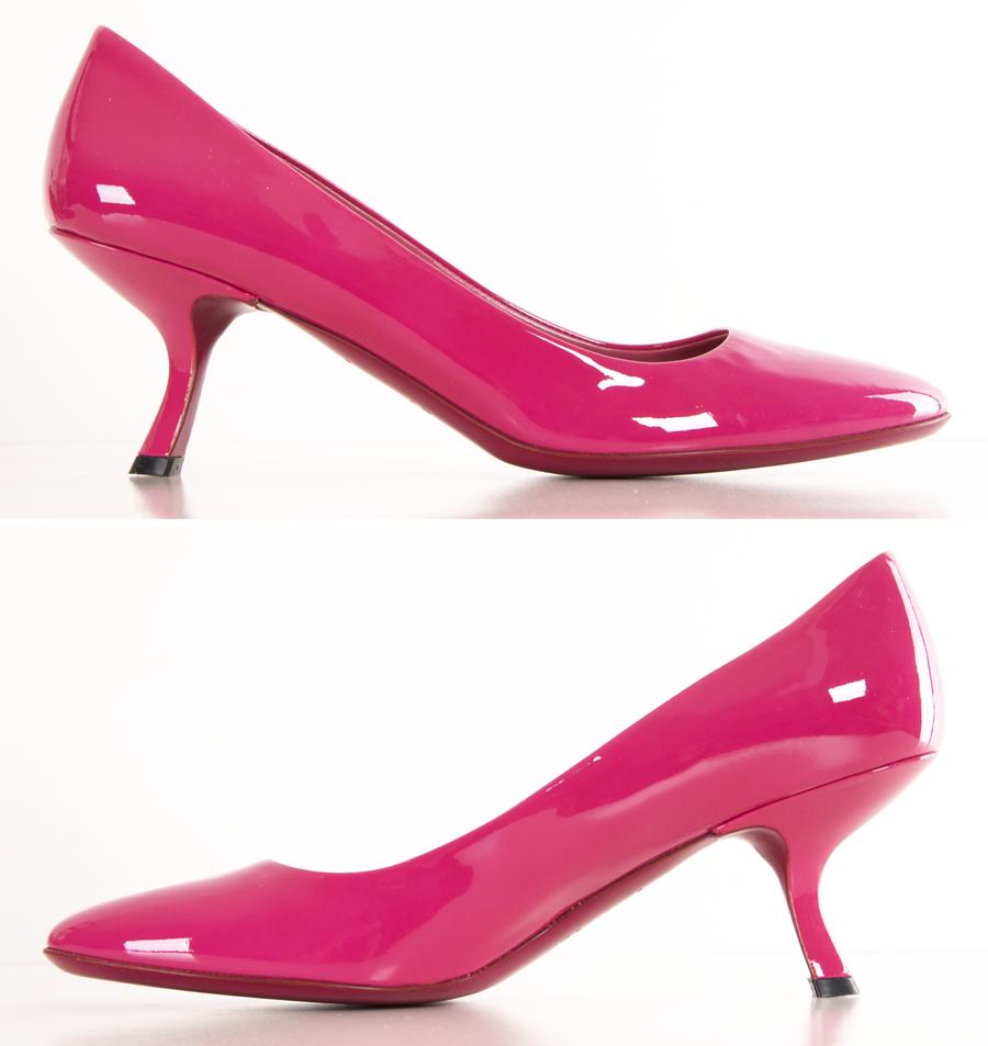 Hot pink dress shoes  PRADA HEELS Michelle Flynn Flynn Flynn ColemanHERS  My Fashion