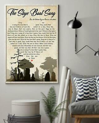 The Skype Boat Song Lyrics Black/White Poster No Frame #fashion #home #garden #homedcor #postersprints (ebay link)