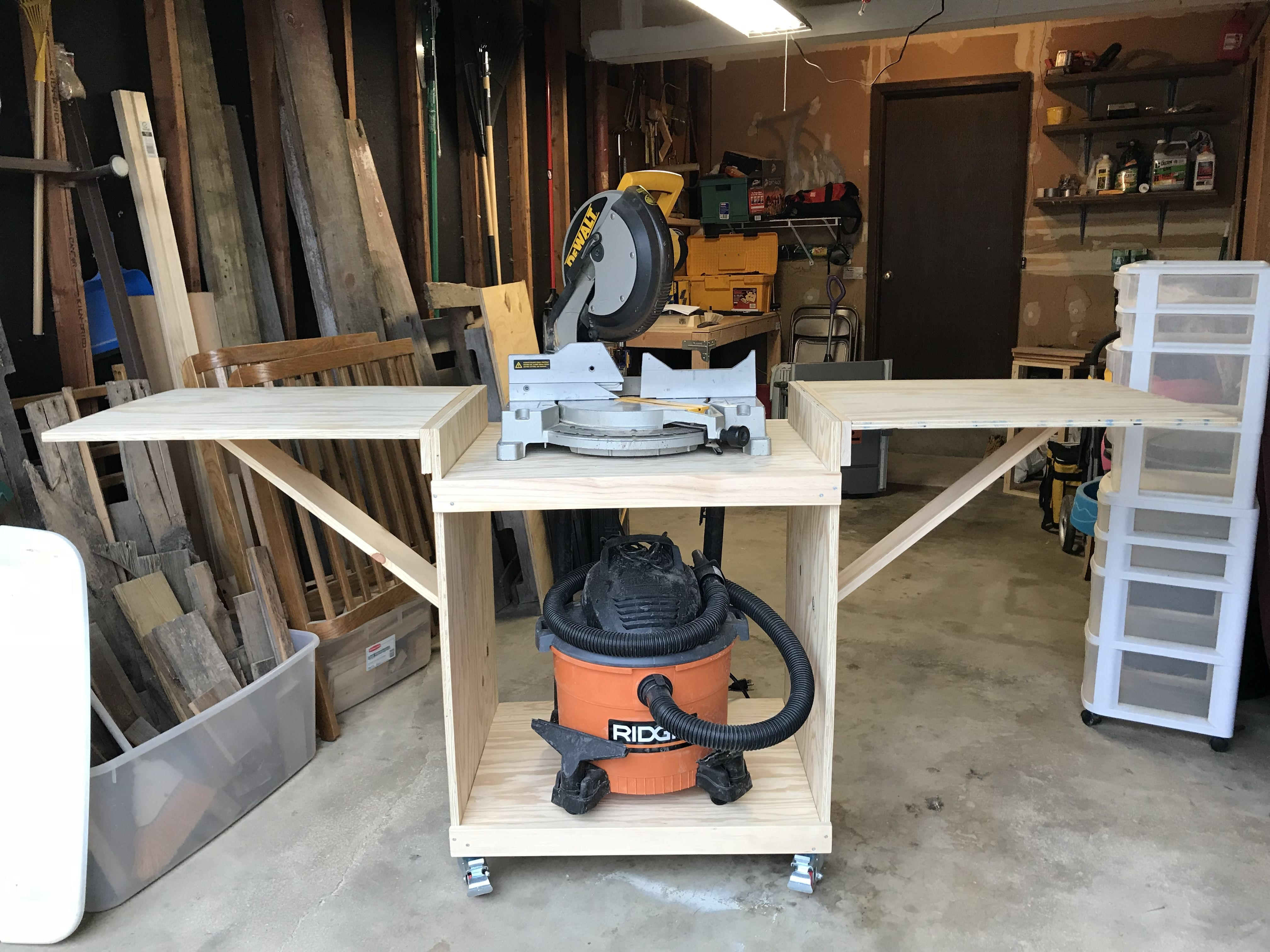 Excellent Ana White Modified Miter Saw Cart Diy Projects Coffee Ncnpc Chair Design For Home Ncnpcorg