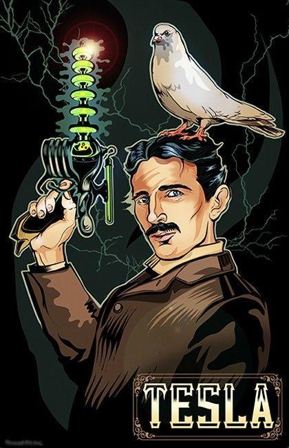 The best kind of Nikola Tesla: steampunk! | Dorm Life ...