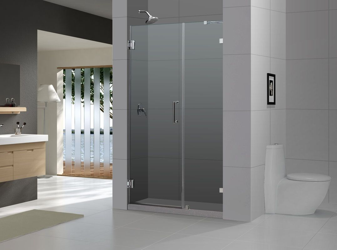 Aqua Glass Semi Frameless Sliding Shower Door Http