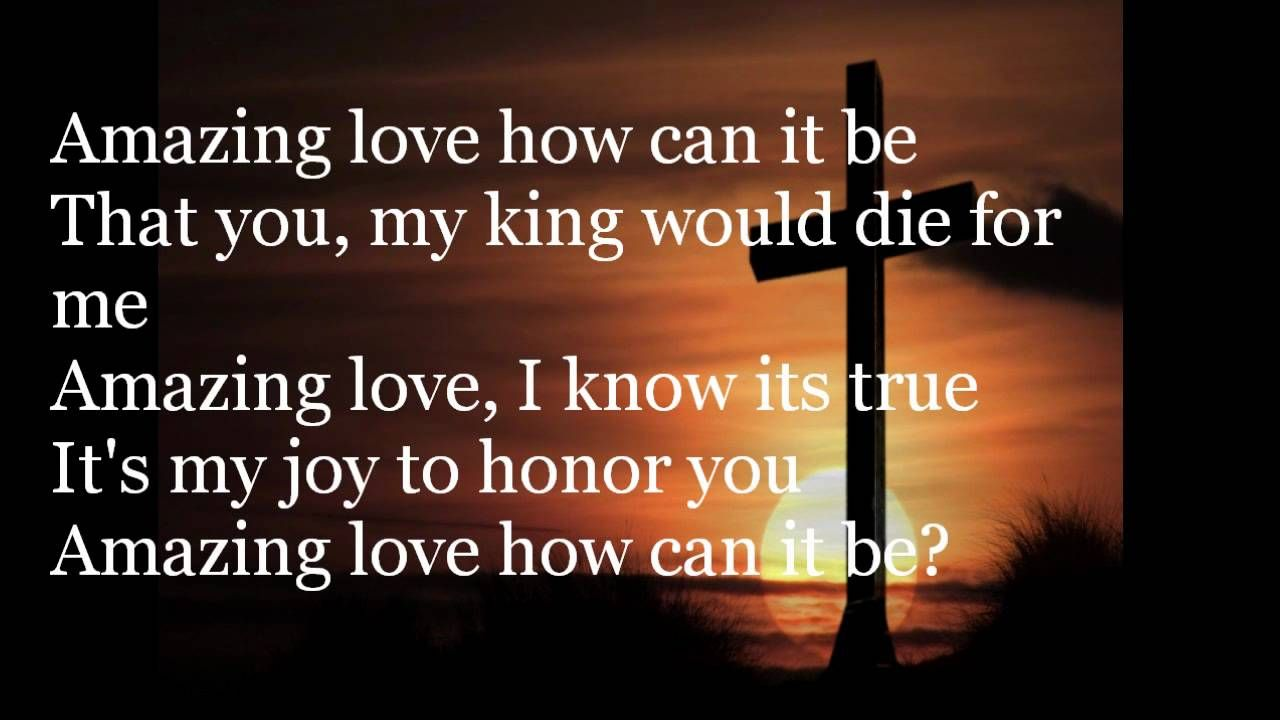 You Are My King Amazing Love Chris Tomlin With Images You